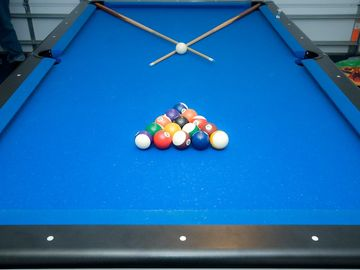 Games room & Pool Table