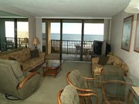 Beach Front w/Private Balcony - Master and Living Room on Ocean