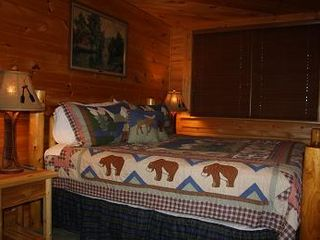 Gatlinburg chalet photo - A bearable bed.