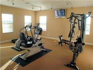 Tuscan Hills villa photo - Gym and Tv at the Clubhouse just 1 block from your Villa