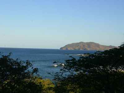 Looking toward Tamarindo and Playa Grande from the deck