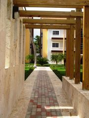 Bavaro condo photo - Entrance to the condos