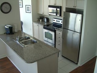 Toronto condo photo - Gourmet, fully equipped kitchen...