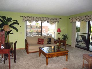 Additional Seating in Great Rrom with a desk - Cocoa Beach condo vacation rental photo