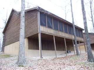 Branson cabin photo - Back view of cabin.