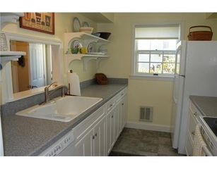 York Beach condo photo - Galley Kitchen conviniently located within the condominium