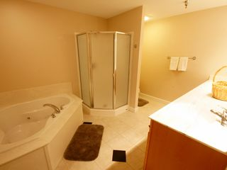Osage Beach condo photo - This Master Bath offers a Jetted Tub and Separate Shower plus a Double Vanity