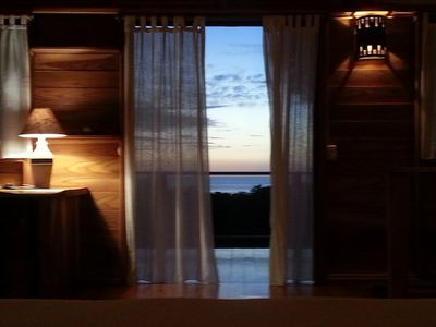 Los mangos...your dusk view from your bed!