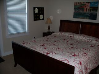 Galveston condo photo - King size bed in Master