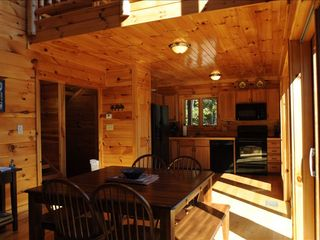 Watauga Lake cabin photo - Hardwood floors and siding
