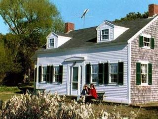 Wellfleet house photo - The girls