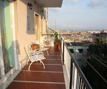 Big Apartment with View over Naples