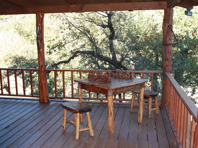 Leakey estate rental - Sit and play chess or dominos in the afternoons