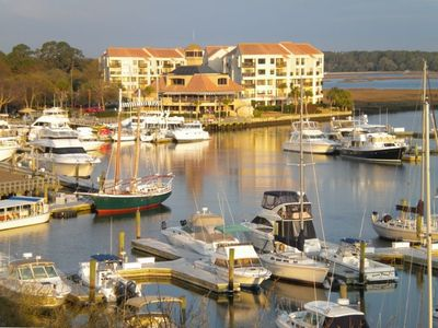 View From Our Oversized Double Balcony Overlooking Shelter Cove Marina
