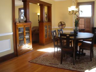 Dining Room seats six - Havre de Grace house vacation rental photo