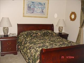 Gulf Shores house photo - Queen bed/ Direc TV