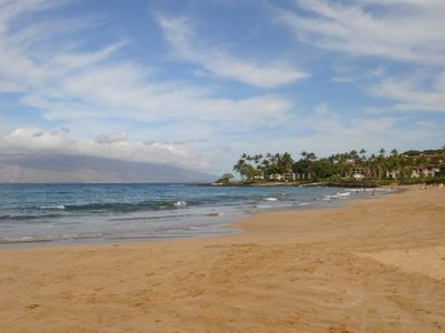 Wailea Beach 1/4 mile away