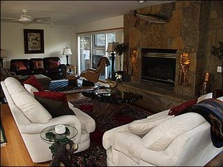 Beaver Creek house photo - Spacious Living Area - Gas Fireplace, Multi-Seating Areas