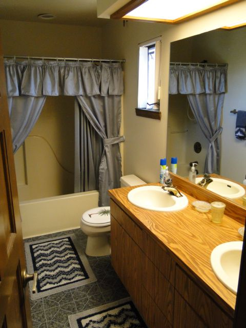 Over the Game Room Suite Bathroom