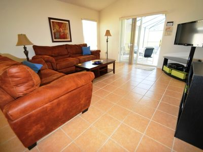 Family Room - comfortable seating, cable TV, Xbox 360 + Kinect with games & DVDs
