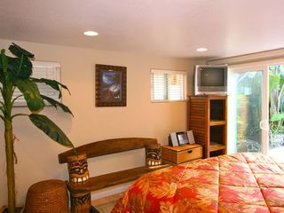 King Bed in Studio Opens to Courtyard - Santa Cruz house vacation rental photo