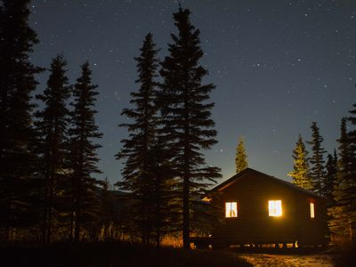 Chickaloon cabin rental - We are truly out in nature!