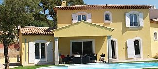 Large New Well-equipped Villa With Private Heated Pool In The Bay Of St.Tropez