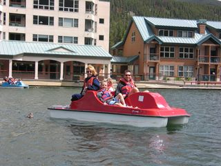 Keystone condo photo - Paddle Boating on Keystone Lake