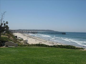 Law Street Park & Beach, w/ Historic Crystal Pier a few blocks South