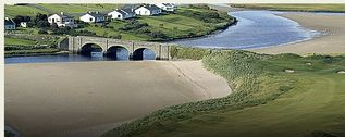 County Clare house photo - Lahinch Bridge at 12th Green
