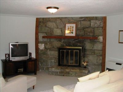 Beech Mountain house rental - Downstairs Family Room