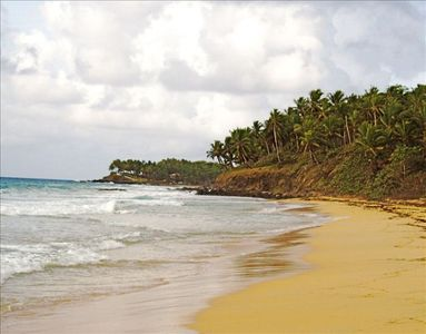 Wide secluded beaches