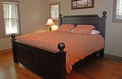 Master Bedroom - King Size Pillow Top Bed
