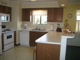 Surfside Beach condo photo - Fully equipted spacious kitchen