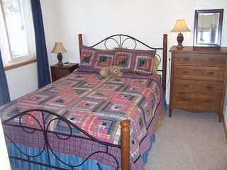 Angel Fire house photo - First floor bedroom w/ attached bath