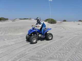San Quintin house photo - Small dunes!