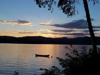 Newfound Lake cottage photo - Sunsets here are just amazing