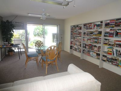 Kailua Kona condo rental - The library at Kona Isle.