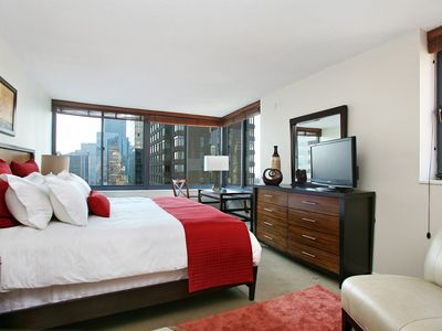 Theater District apartment rental - bedroom