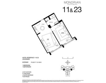 Floorplan - 750 Sq Ft. -70,2 M2