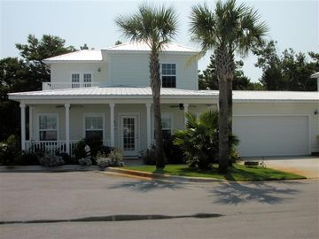 Frangista Beach house rental - First Front view