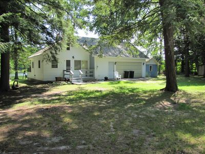 Quaint Thayer Lake Cottage In Wooded Setting Vrbo