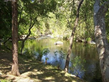 Three Rivers house rental - View of River from House