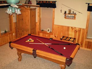 Wears Valley cabin photo - Pool Table