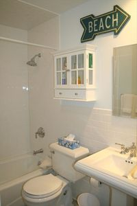 East Hampton house rental - 1st Floor Full Bathroom - fully renovated in 2011