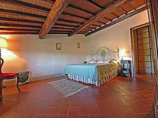 Gaiole in Chianti villa photo - Bedroom in 3rd floor with great views