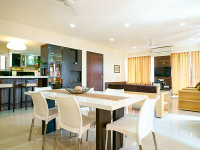 Luxurious 3 bedroom fully furnished apt in Baner (Pune, India) with a nice view