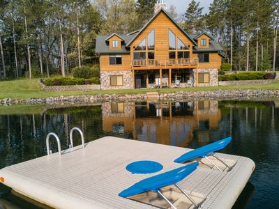 Spacious Retreat with Private Swimming and Fishing Pond Near Wisconsin Dells