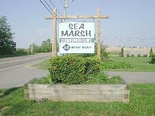 Wells condo photo - Sea Marsh Condominium sign on Mile Road in Wells