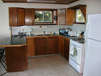 Homer house rental - This is a full kitchen